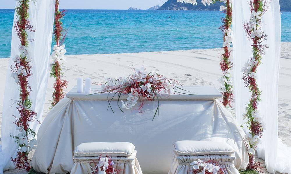 Celebrazione matrimonio in spiaggia
