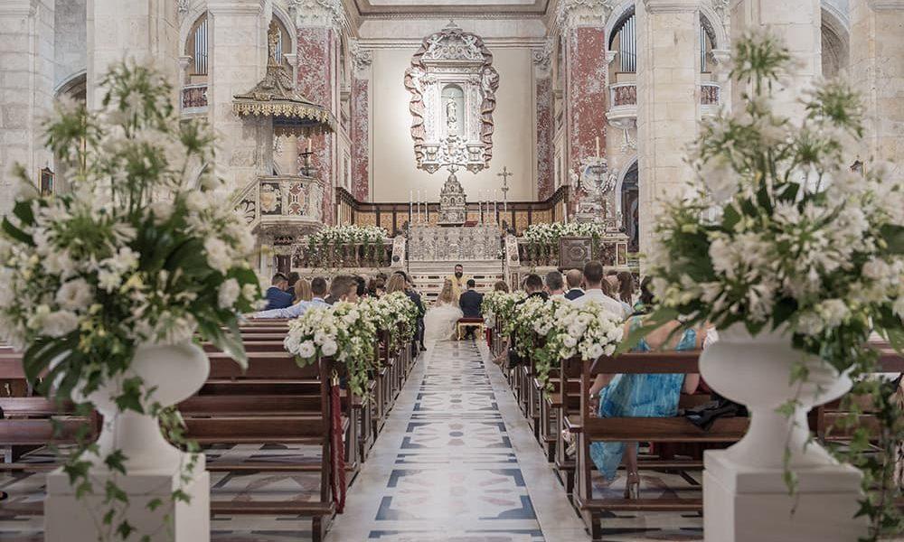 Allestimenti floreali chiese Sardegna