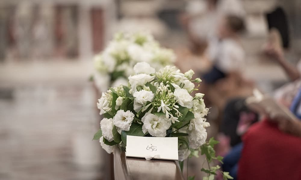Decorazione floreale Matrimonio in Sardegna