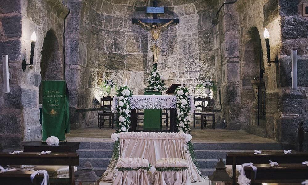 Installazioni floreali Matrimonio Sardegna