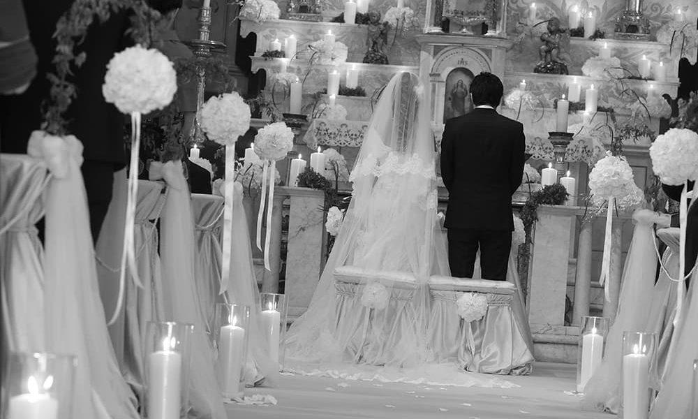 Progettazione floreale matrimonio