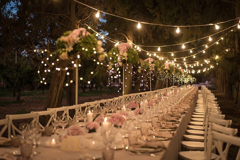 Garden wedding Sardinia